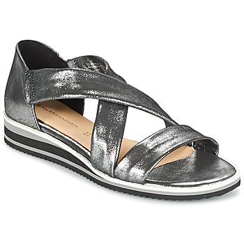 Schuhe Damen Sandalen / Sandaletten Salamander REBECCA Silbern