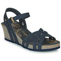 Schuhe Damen Sandalen / Sandaletten Panama Jack VERA Marine