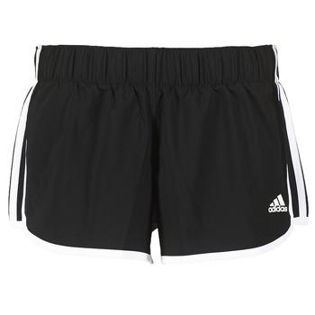 Kleidung Damen Shorts / Bermudas adidas Performance M10 SHORT WOVEN Schwarz