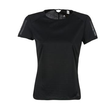 Kleidung Damen T-Shirts adidas Performance RS SS TEE W Schwarz
