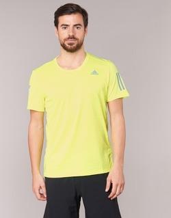Kleidung Herren T-Shirts adidas Performance RS SS TEE M Gelb