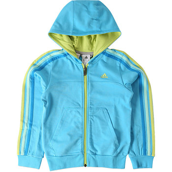 Kleidung Jungen Trainingsjacken adidas Performance Veste de survêtement Adidas enfant Blau