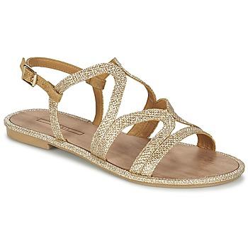 Schuhe Damen Sandalen / Sandaletten Esprit NAZLI SANDAL Gold