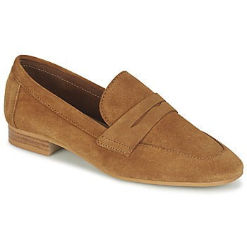 Schuhe Damen Slipper Esprit ARIA LOAFER Camel