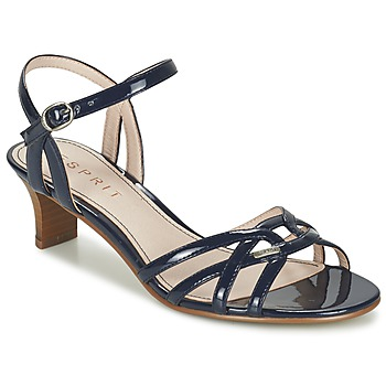 Schuhe Damen Sandalen / Sandaletten Esprit BIRKIN SANDAL Marine
