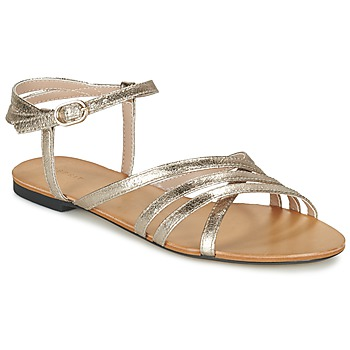 Schuhe Damen Sandalen / Sandaletten Esprit ADYA SANDAL Silbern