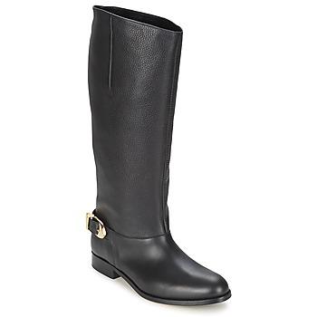 Schuhe Damen Klassische Stiefel Moschino Cheap & CHIC BUCKLE Schwarz