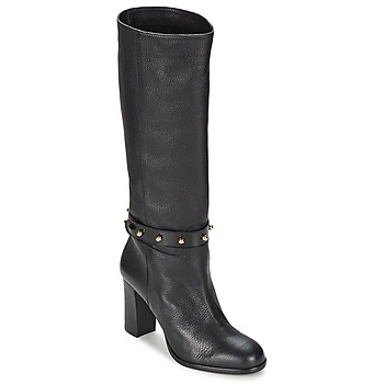 Schuhe Damen Klassische Stiefel Moschino Cheap & CHIC STUD Schwarz
