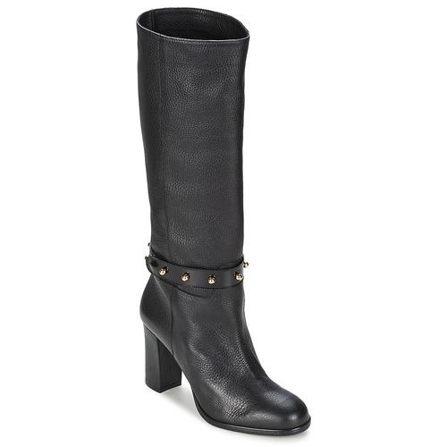 Moschino Cheap & CHIC STUD Schwarz Damen  Schuhe Klassische Stiefel Damen Schwarz 352,50 90d38c