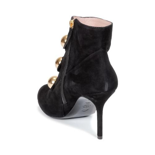 Moschino Cheap & CHIC BOW Damen Schwarz Schuhe Low Boots Damen BOW 234 5a42fd