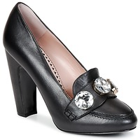 Schuhe Damen Pumps Moschino Cheap & CHIC STONES Schwarz