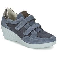 Schuhe Damen Sneaker Low Stonefly EBONY Blau