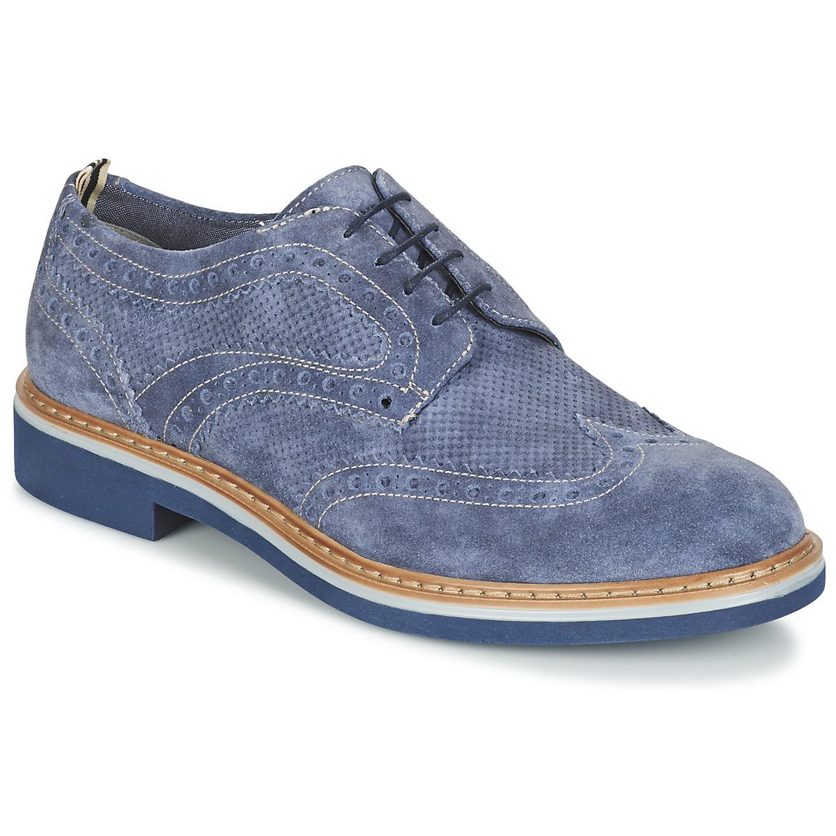 Stonefly ALBY Blau - Kostenloser Versand bei Spartoode ! - Schuhe Derby-Schuhe Damen 76,90 €