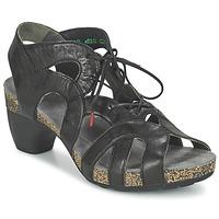 Schuhe Damen Sandalen / Sandaletten Think SARDE Schwarz