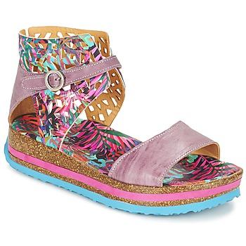 Schuhe Damen Sandalen / Sandaletten Think REMIL Rose / Multifarben