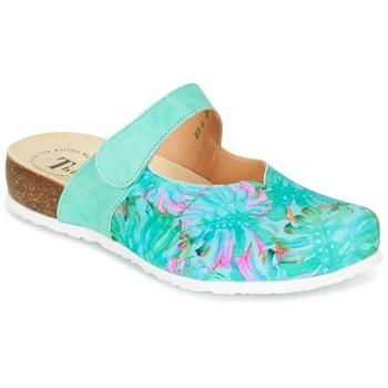 Schuhe Damen Pantoletten / Clogs Think SOREN Türkis