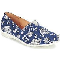 Schuhe Damen Slip on Think GRIVA Marine / Weiss
