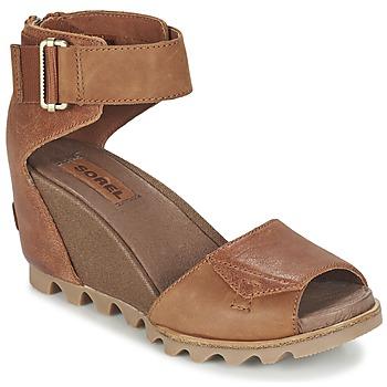 Schuhe Damen Sandalen / Sandaletten Sorel JOANIE SANDAL Braun