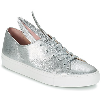 Schuhe Damen Sneaker Low Minna Parikka ALL EARS Silbern