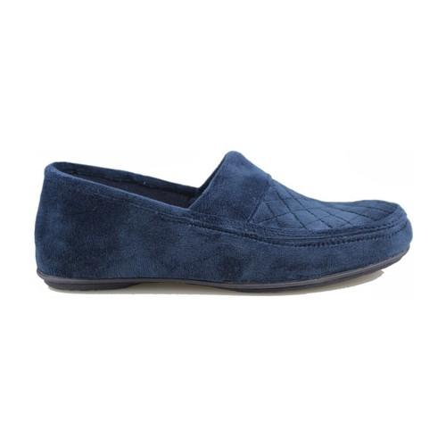 Schuhe Herren Slipper Vulladi Alaska Mann  heimischen Schuh AZUL
