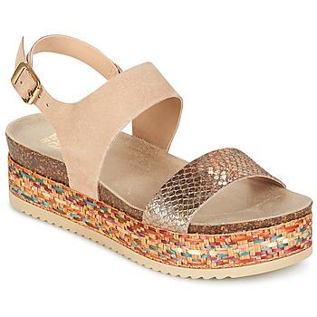 Schuhe Damen Sandalen / Sandaletten Bullboxer GROJETINE Beige / Multifarben