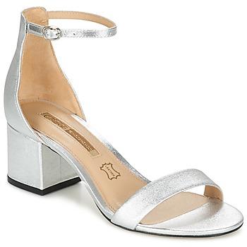 Schuhe Damen Sandalen / Sandaletten Buffalo DALOUD Silbern