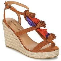 Schuhe Damen Sandalen / Sandaletten Buffalo VARIN Braun