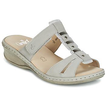 Schuhe Damen Pantoffel Caprice VILIALE Grau