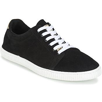 Schuhe Damen Sneaker Low Chipie JERBY Schwarz / Goldfarben