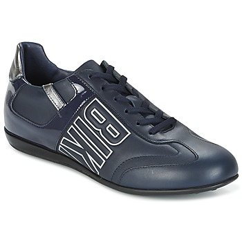 Schuhe Herren Sneaker Low Bikkembergs R-EVOLUTION 186 LEATHER Blau