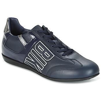 Schuhe Herren Sneaker Low Bikkembergs R-EVOLUTION 186 LEATHER Blau