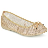 Schuhe Damen Ballerinas Refresh OULALA Gold
