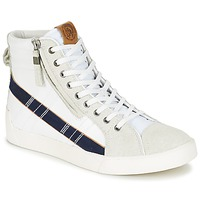 Schuhe Herren Sneaker High Diesel D-STRING PLUS Weiss / Blau