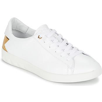 Schuhe Damen Sneaker Low Diesel S-OLSTICE LOW W Weiss / Gold