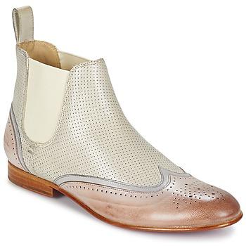 Schuhe Damen Boots Melvin & Hamilton SALLY 19 Weiss