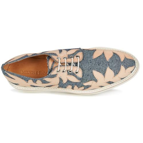 Melvin & Schuhe Hamilton MOLLY 11 Blau / Beige  Schuhe & Derby-Schuhe Damen 118,90 060029