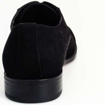 Schuhe Herren Sneaker High Giorgio Morra 11442 Lace up shoes Mann Schwarz Schwarz