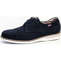 Schuhe Herren Derby-Schuhe CallagHan 89100 Lace up shoes Mann Blau Blau