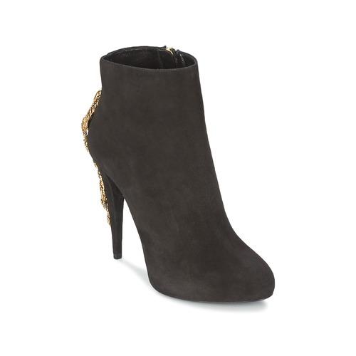 Schuhe Damen Low Boots Roberto Cavalli YPS564-PC001-05051 Schwarz