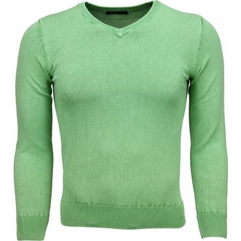 Kleidung Herren Pullover Tony Backer Exclusive VHals Grün