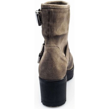 Schuhe Damen Boots Janeth & Co 920 D Stiefeletten Frau TAUPE TAUPE