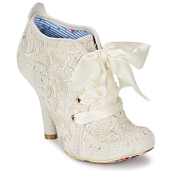 Schuhe Damen Low Boots Irregular Choice ABIGAILS THIRD PARTY Weiss / Creme