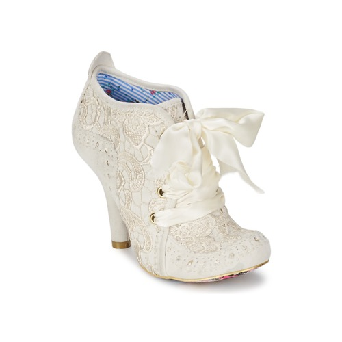 Irregular Choice ABIGAILS THIRD PARTY Weiss / Creme  Schuhe Ankle Boots Damen 118
