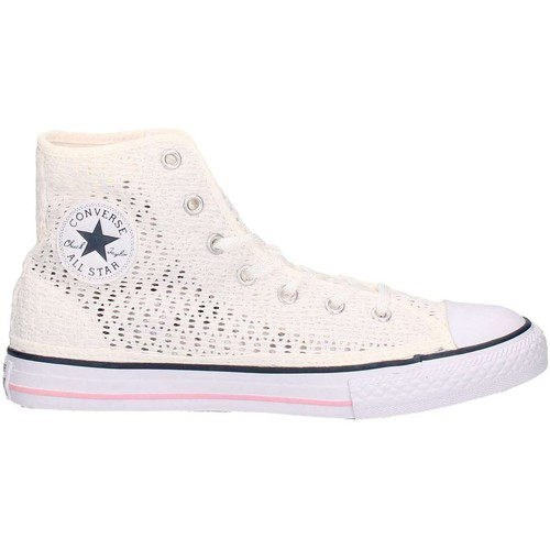 Schuhe Kinder Sneaker Low Converse 652725C Sneakers Junge Weiss Weiss
