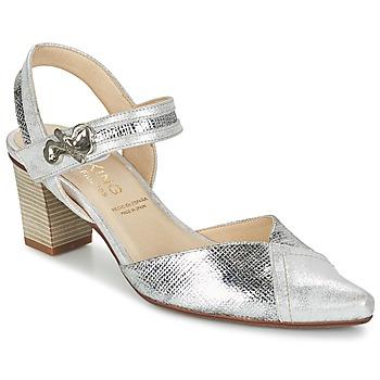 Schuhe Damen Pumps Dorking DELTA Silbern