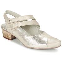 Schuhe Damen Pumps Dorking MENET Silbern / Grau