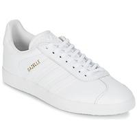 Schuhe Sneaker Low adidas Originals GAZELLE Weiss
