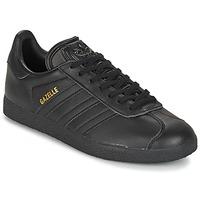 Schuhe Sneaker Low adidas Originals GAZELLE Schwarz