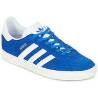 Schuhe Kinder Sneaker Low adidas Originals GAZELLE J Blau