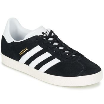 Schuhe Kinder Sneaker Low adidas Originals GAZELLE J Schwarz